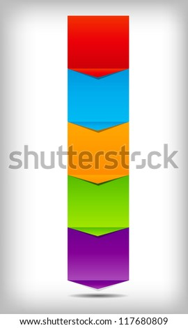 concept of  business process improvements chart. Vector illustration - stock vector
