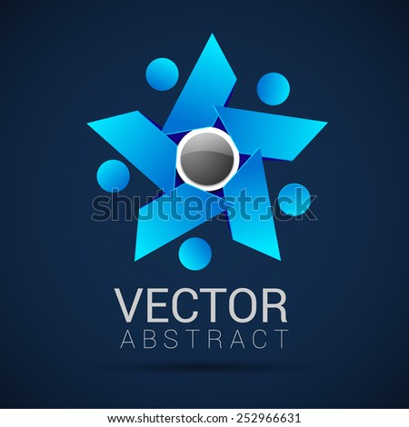 Concept of community unity solidarity friendship vector  - stock vector