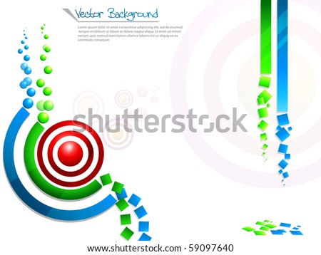 Concept of rss background colorful.Vector illustration.
