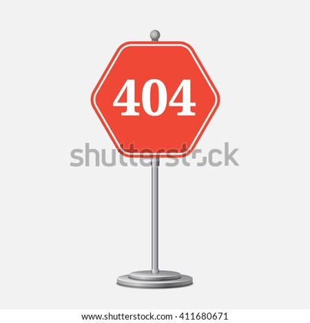 Concept page 404. Design 404 error. Illustration error page not found. linear design 404 page. - stock vector