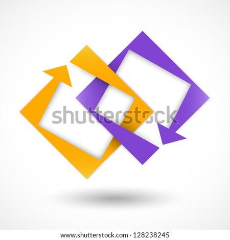 Concept sign - stock vector