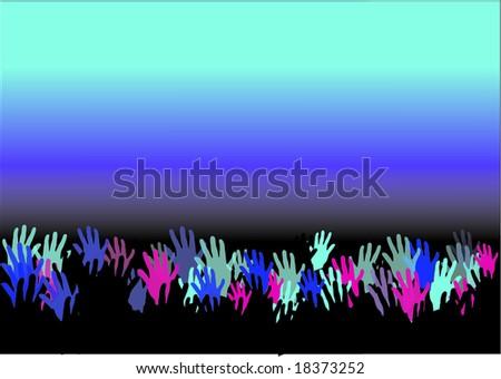 concert - stock vector
