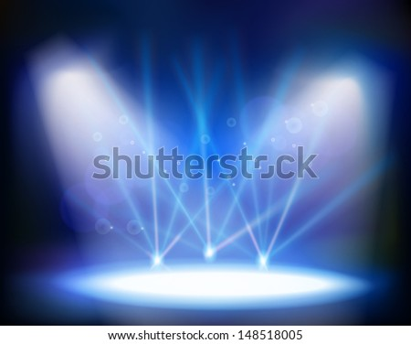 concert hall - stock vector