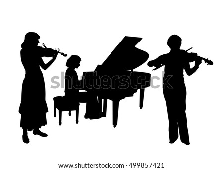 Concerto for two violins and piano