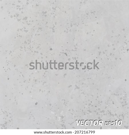 Concrete Texture Background - Vector  - stock vector