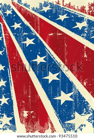 Confederate poster . Background of Confederate poster with a grunge texture for you - stock vector