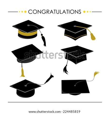 Pics  Word  Letters Throwing Graduation Hats