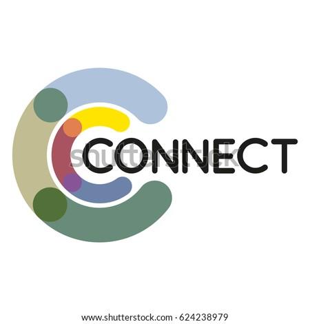 connect logo stock images royaltyfree images amp vectors