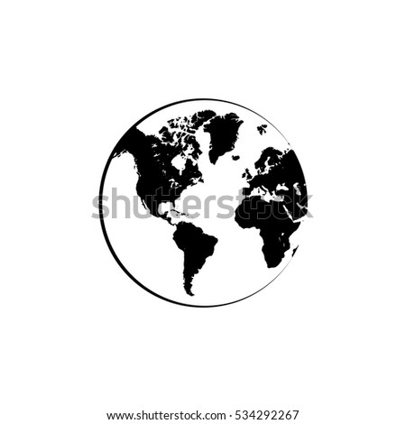 Connection networking world map vector icon stock vector 534292267 connection networking world map vector icon gumiabroncs Images