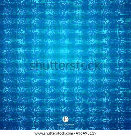 Consisting of blue particles abstract background,Technological sense Illustrations.