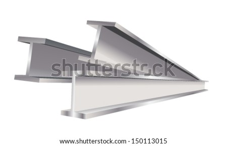 construction beam vector version - stock vector
