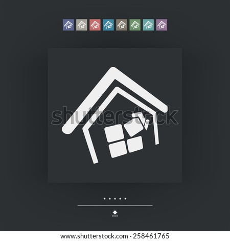Construction concept - stock vector