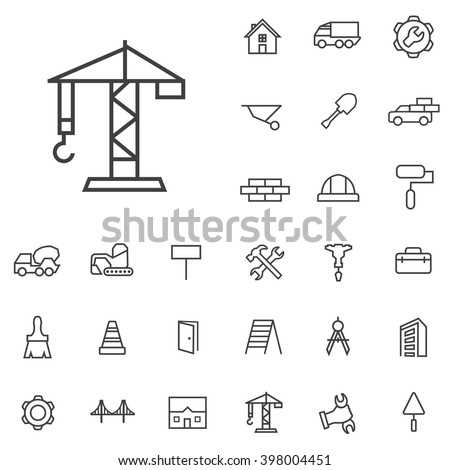 construction Icon, construction Icon Vector, construction Icon Art, construction Icon eps, construction Icon Image, construction Icon logo, construction Icon Sign, construction icon Flat - stock vector