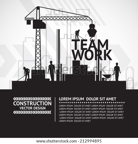 Construction infographics