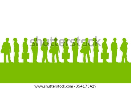 Construction project engineer supervisor green ecology environmental vector background concept