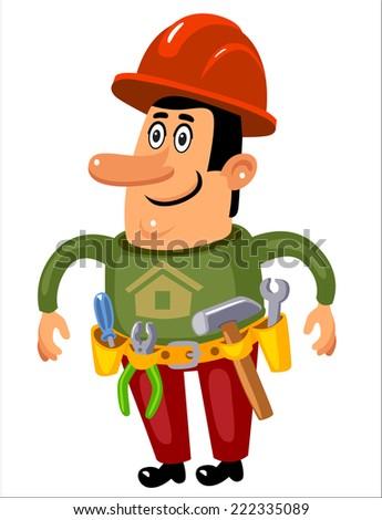Construction Worker,  - stock vector