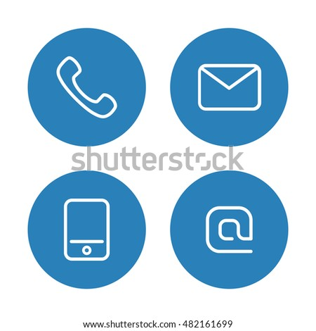Contact Icon Stock Images, Royalty-Free Images & Vectors ...