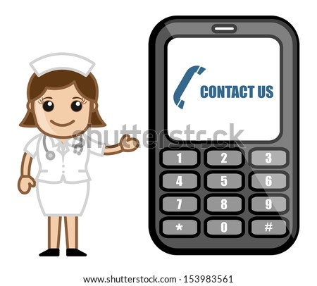 Contact Us Cartoon >> Stock Images similar to ID 111826391 - abstract medical