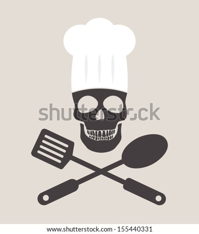 contaminated food - stock vector