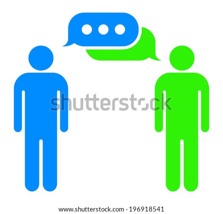 dialogue between 3 people A conversation between two people  the problem is that you have used phrasing for casual conversation between 2 friends, not between.