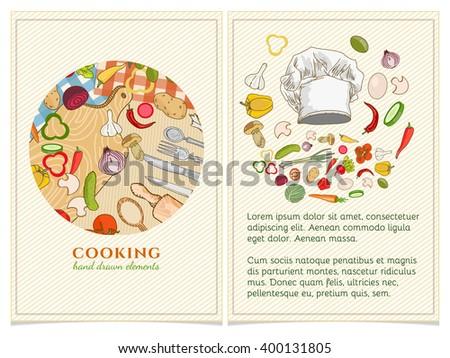 Cookbook Vectores, Imágenes Y Arte Vectorial En Stock | Shutterstock