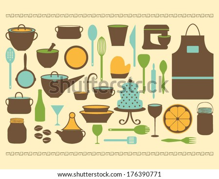 Cooking Icons Collection in Vector