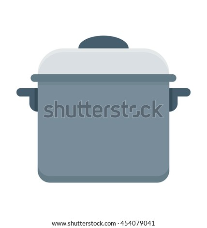 Cooking Pan Vector Icon