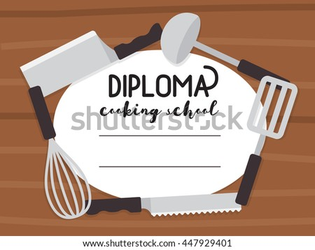 Cooking Course Images RoyaltyFree Images Vectors – Cooking Certificate Template