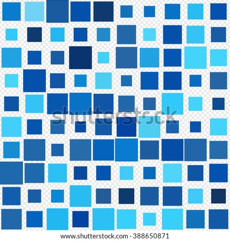 Cool Abstract Pattern - Squares pattern in different colors