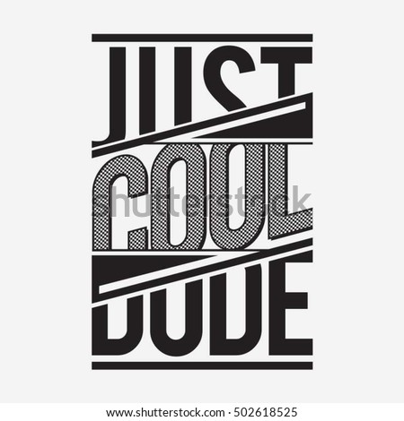 Cool Awesome Slogan Typography Tshirt Graphics Stock Vector ...