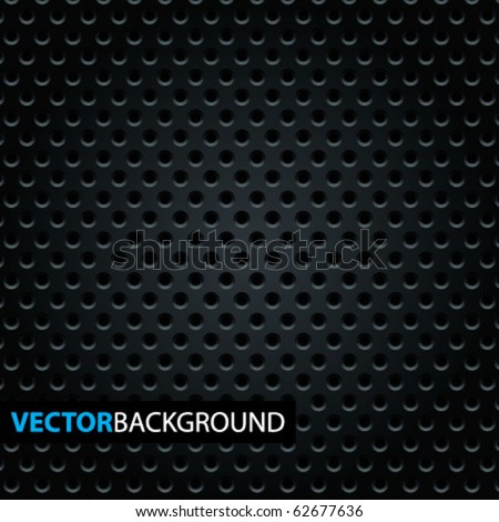Cool metal texture. Vector illustration. - stock vector