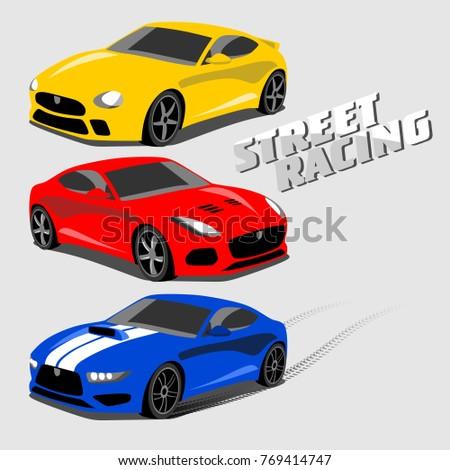 Cool Sport Cars, Street Racing
