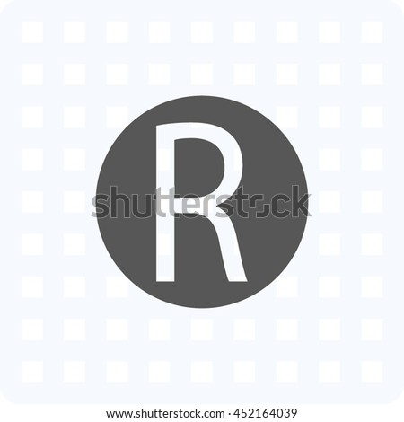 copyright icon- vector illustration - stock vector