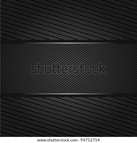 Corduroy background, fabric texture, place text here - stock vector