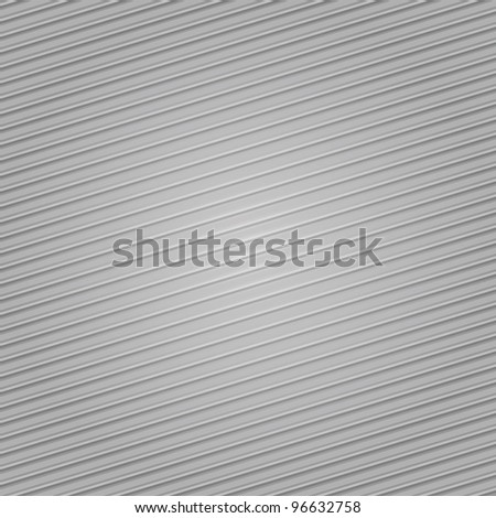 Corduroy background, gray fabric texture - stock vector