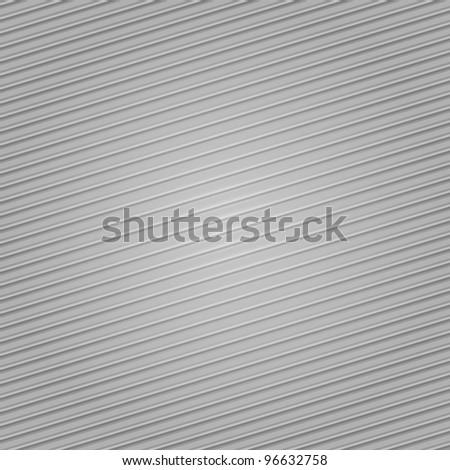 Corduroy background, gray fabric texture - stock vector