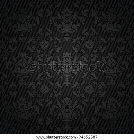 Corduroy background, ornamental fabric texture - stock vector