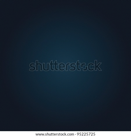 Corduroy blue vintage background - stock vector
