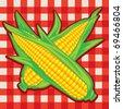Corn Cobs - stock vector