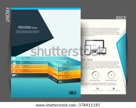 corporate flyer banner e mailer design template vector graphic can be use for