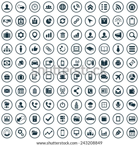 corporate Icons Vector set