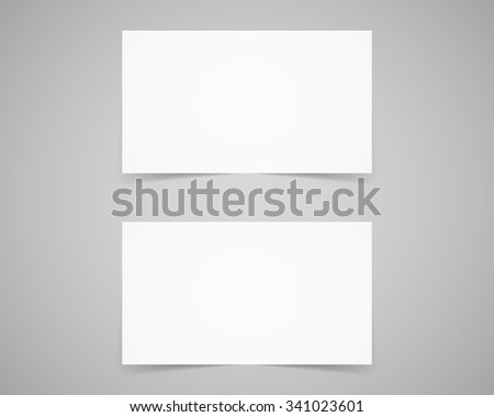 Corporate identity, business card template. Branding letterhead. Business identity kit. Paper edition. Place your design, text easily. Change color etc. Vector illustration. - stock vector