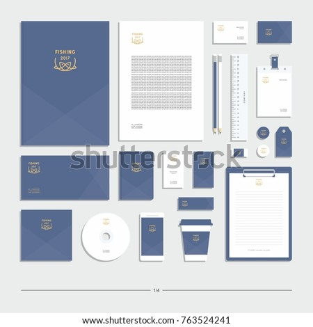Corporate identity, stationery set, sign, symbol.