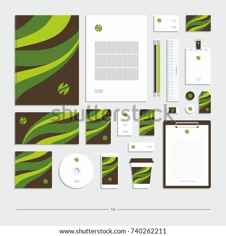 Corporate identity, stationery set, sign, symbol, icon.