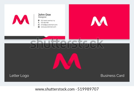 Corporate minimal business visiting card alphabet stock vector hd corporate minimal business visiting card alphabet stock vector hd royalty free 519989707 shutterstock thecheapjerseys Gallery