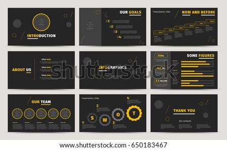 Corporate presentation slides design creative business stock vector corporate presentation slides design creative business proposal or annual report full hd vector keynote cheaphphosting Gallery