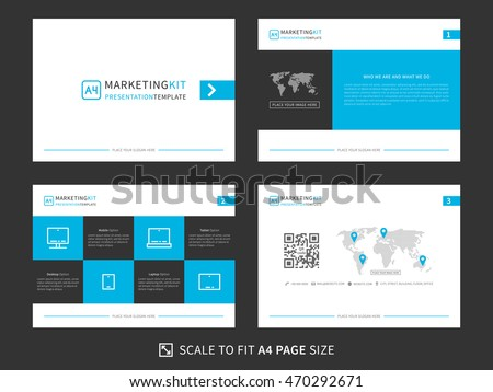 Corporate presentation vector template modern powerpoint stock photo corporate presentation vector template modern powerpoint presentation graphic design minimalistic power point layout with toneelgroepblik Images