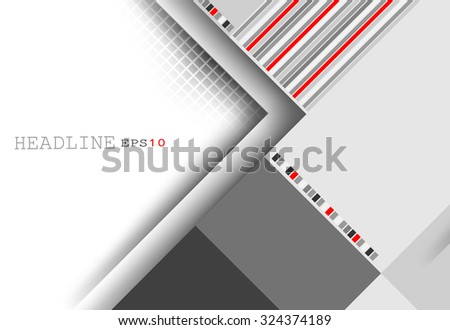 corporate vector layout with copy space. Eps10 - stock vector