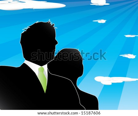 Corporate Vision - stock vector
