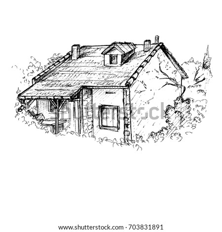Cottage Stock Images Royalty Free Vectors